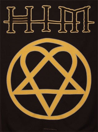 Is The Heartagram Really A Santanic Symbol Him Lyrics