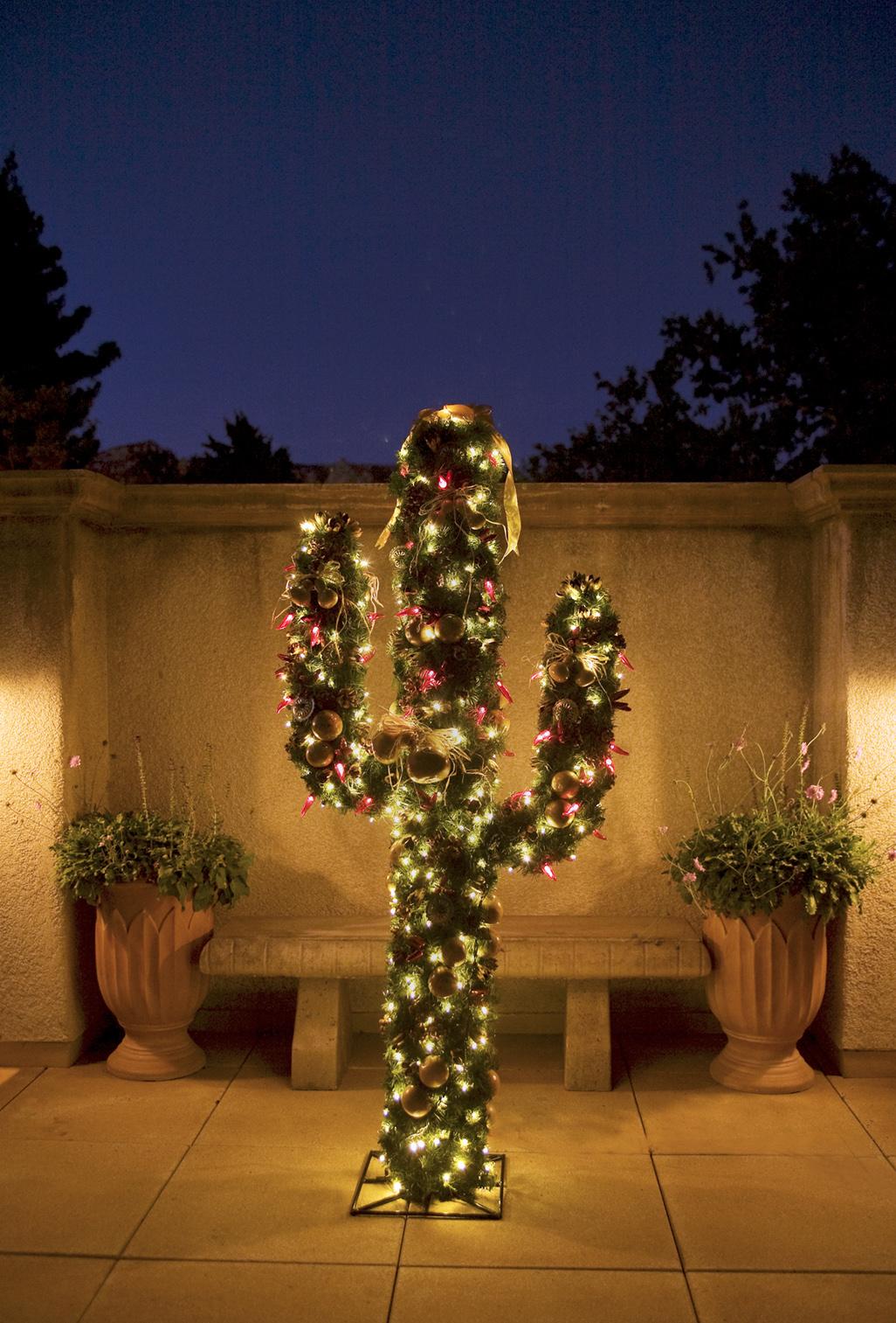 christmas cactus lighting las vegas