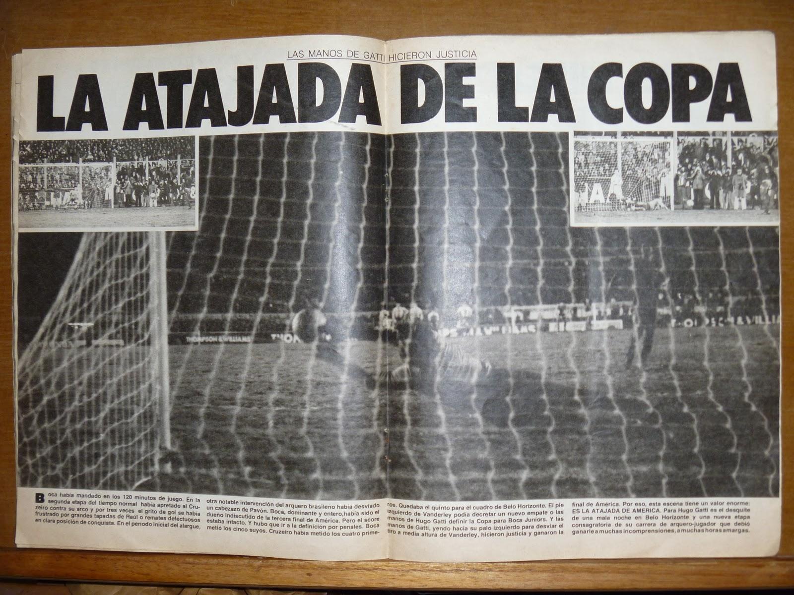 """El Grafico """"Boca Campeon de América 1977"""" (revist"""