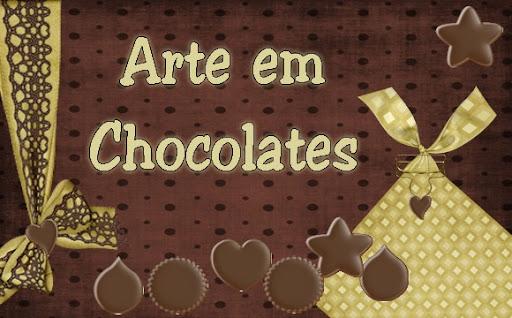 Arte em Chocolates