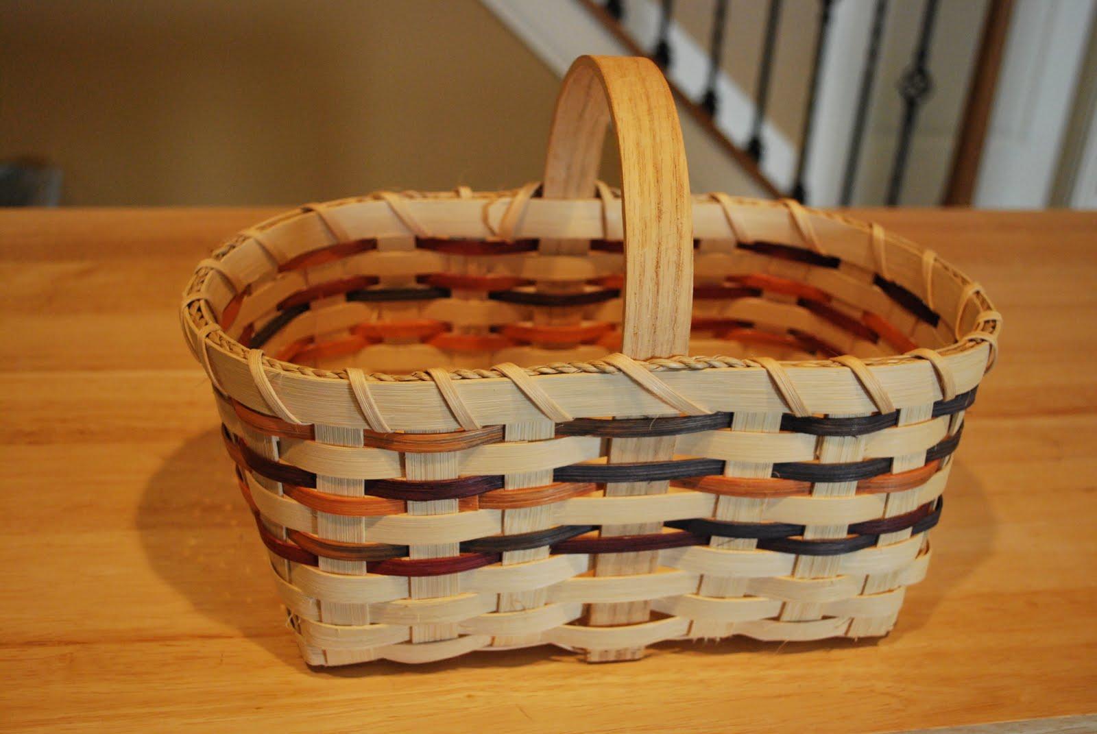 Woven Basket Procedure : Mle s abc a tisket tasket hand woven basket