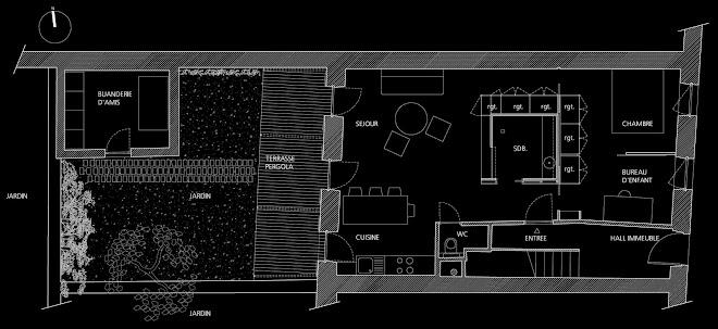 Appartement rez de jardin marseille for 3 fenetres marseillais