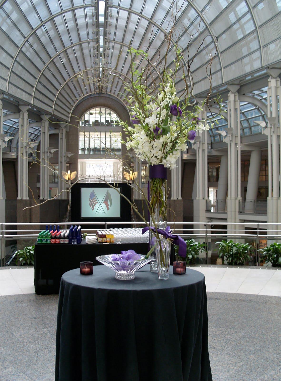 Working As A Flower Designer Binaifer The Ronald Reagan Building International Trade Center