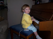 Our little piano player