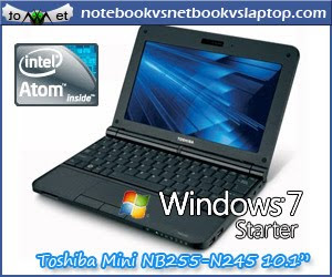 TOSHIBA MINI NB255-N245 10.1-INCH BLACK ONYX NETBOOK (8 HOUR BATTERY LIFE)