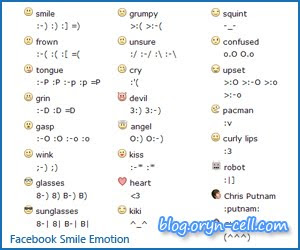 Emoticon Smile Facebook Chat 2010-08-19T22:20:00+07:00 Blogger Sragen