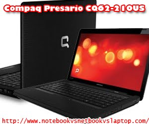 COMPAQ PRESARIO CQ62-210US LAPTOP PC