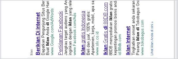 Beriklan Di Internet Melalui Google Adwords