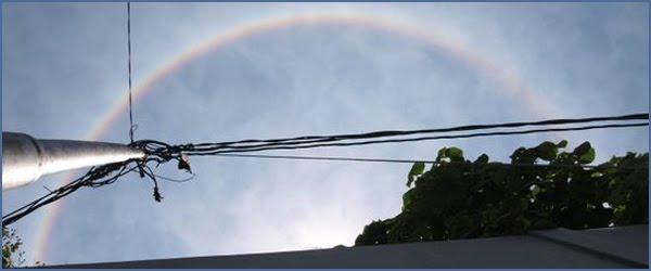 Foto Halo Matahari Fenomena alam di Yogyakarta