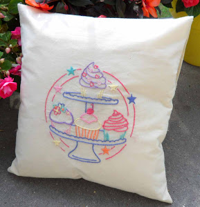 Yummy Cupcake Cushion