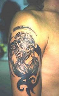 Let Us See Alien Tattos