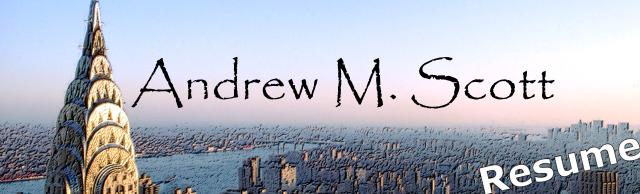 Andrew Scott's Resume