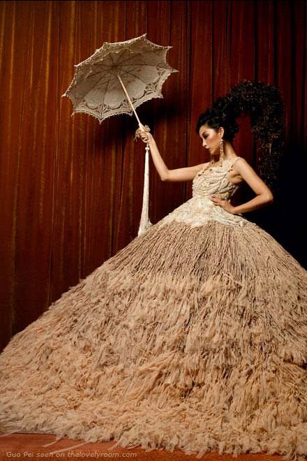 international fashion: avant garde wedding