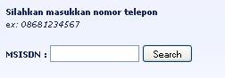 Melacak Lokasi Nomor Hp GSM/CDMA