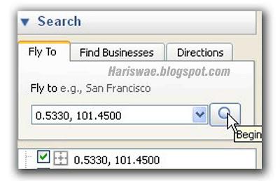 lacak google earth ip address