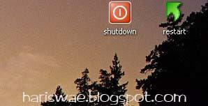 shortcut shutdown xp