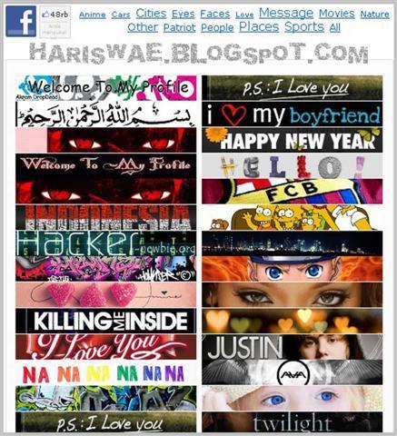 ... kB · jpeg, Profil Facebook Keren Dengan Aplikasi Profile Customizer