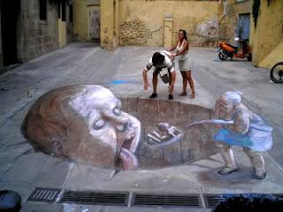 Photo-photo Street Painting 9