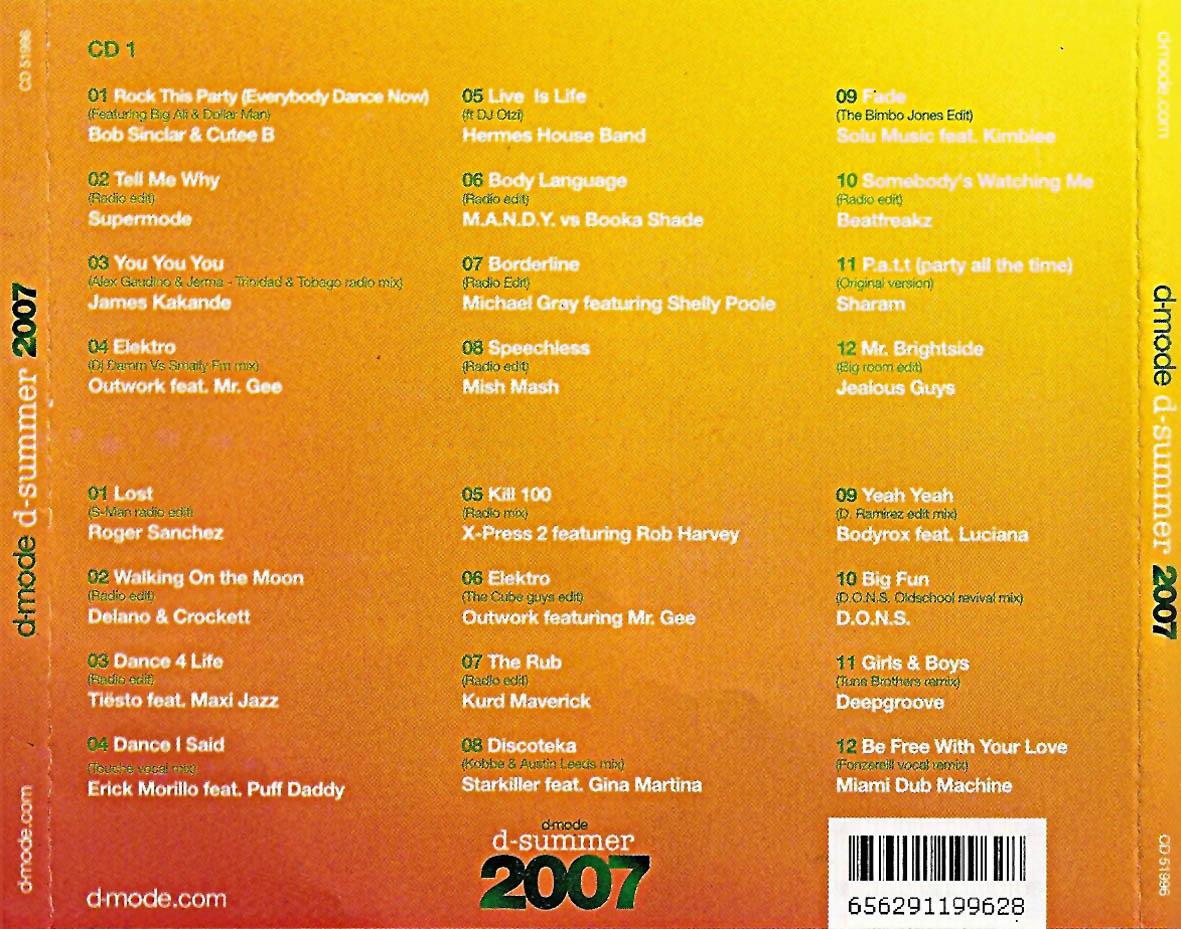 D MODE 2007