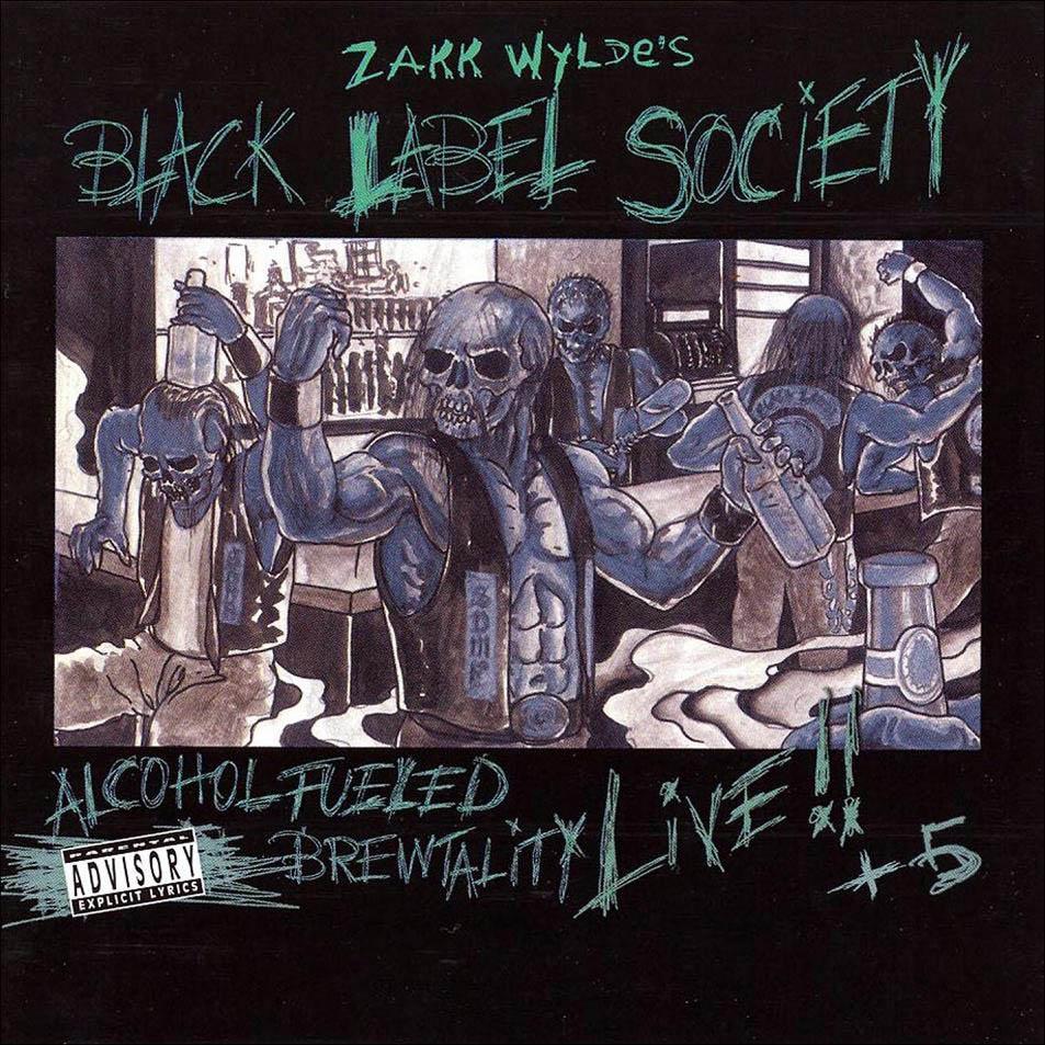 Caratulas De Cd De Musica Zakk Wylde S Black Label