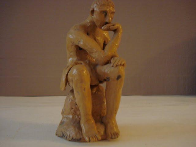 """Rodin's  """"düşünen adam"""""""