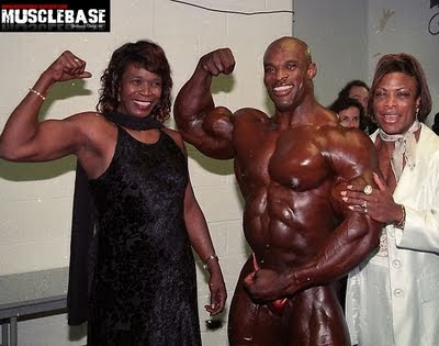 Ronnie coleman & his wife