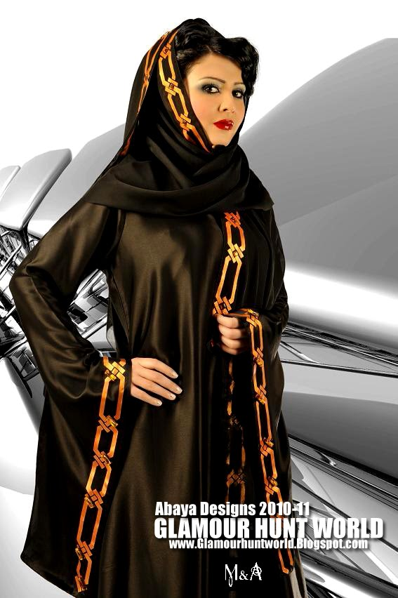 Abaya Designs 2010 By M A Abaya Fall Winter Autumn Collection