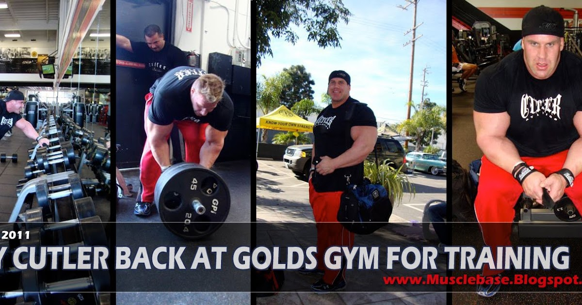 Jay Cutler Back At Golds Gym In 2011 With His Training Team | Jay ...