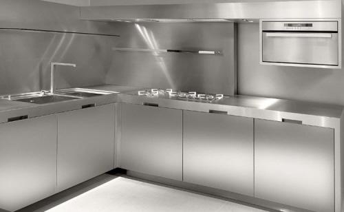 Stainless Steel Kitchen Design Cabinet