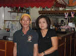 Chef Nay and Keo Sisombath also the owner of Sala Thai