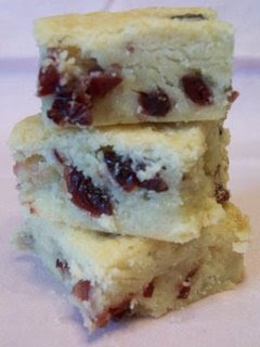 Cranberry Shortbread for a cause