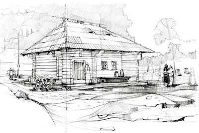 Desene arhitectura casa taraneasca din moldova for Casa moderna in moldova