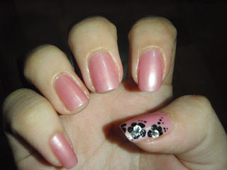 Nail art@ something borrowed something new