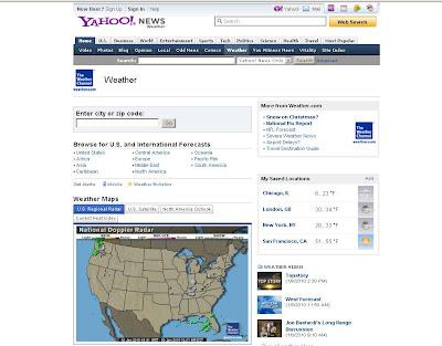 Yahoo 5 Day Weather Forecast