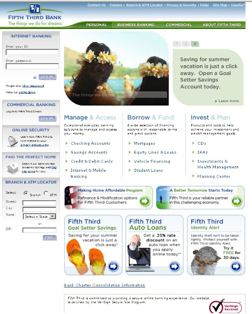 Fifth Third Bank Online - www.53.com personal account