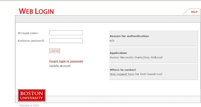 BU Webmail Login - BU Student WebMail - Boston University - www.bu.edu