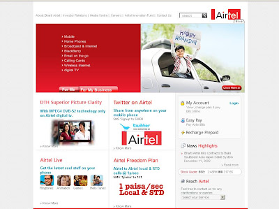 Airtel.in : Login to My Account for Bill Payment