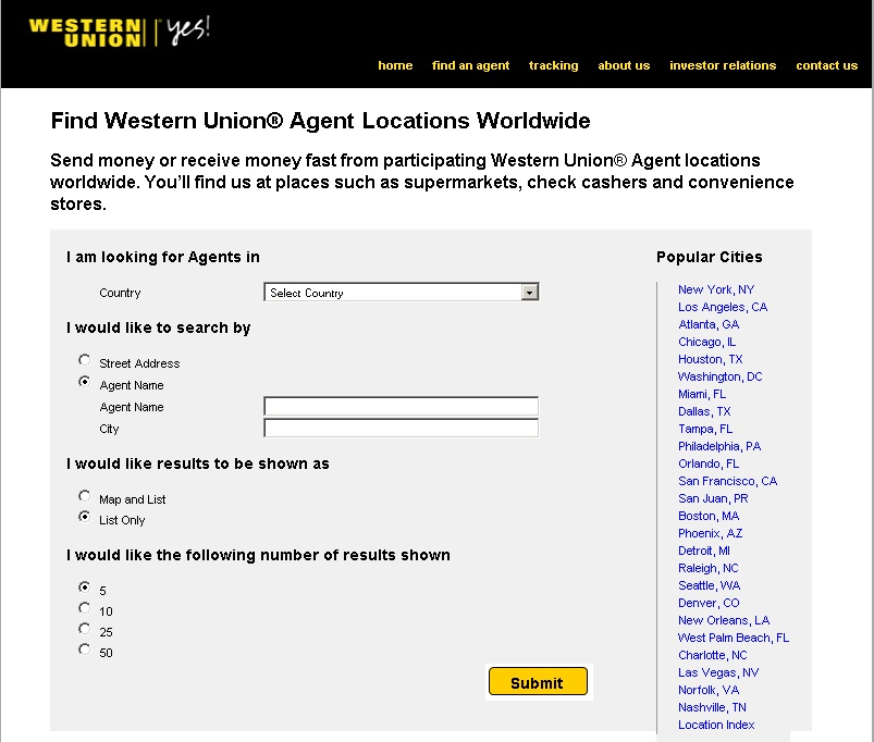 Valuta agents http letmeget com find store locations agent