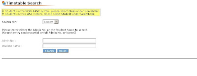 How to search TP Timetable at Temasek Polytechnic portal (tp.edu.sg)?