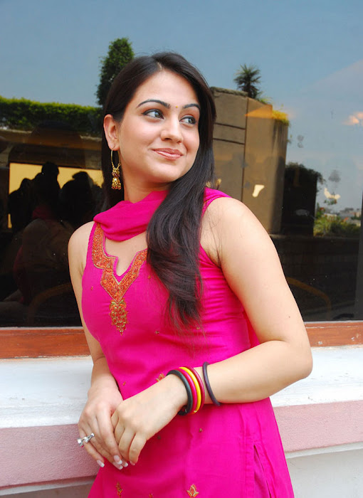 aksha in test pink dress aksha smooth lips unseen pics