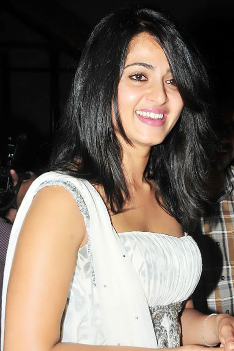anushka in vedam audio released movies vedam audio premier anushka sharma in white dress looking pretty actress pics