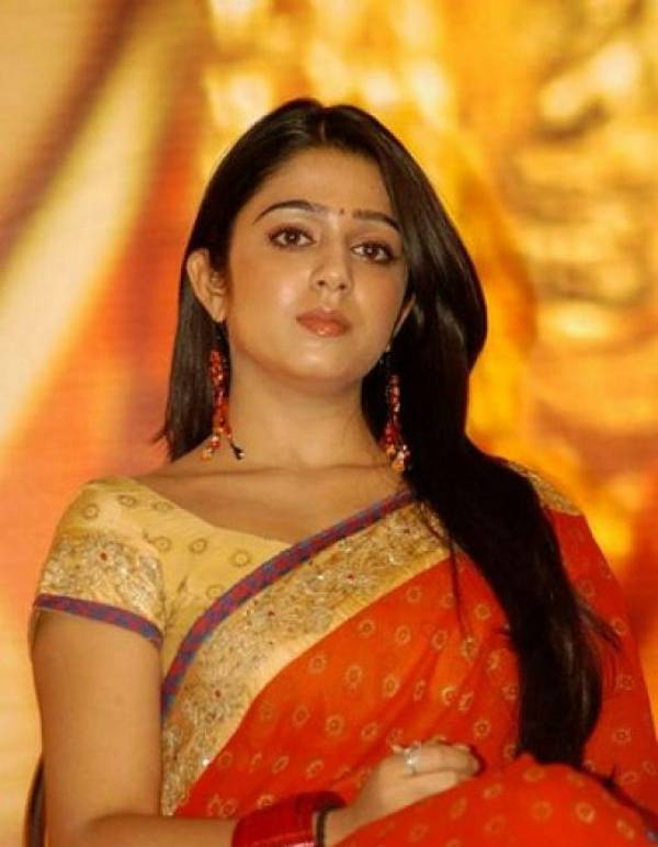charmi saree photos