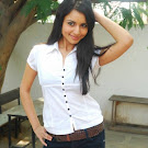 Aparna  Sharma in White Shirt & Jeans  Spicy Pics