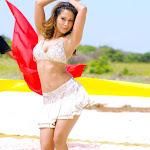 Kim Sharma  Dancing Stills in White Dress