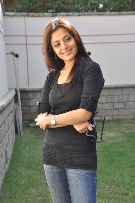 nisha agarwal new in charming black dress hot photoshoot