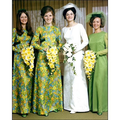 Wedding on Is A Picture Of My Cousin Ann S 1970s Wedding Party I M On The Left