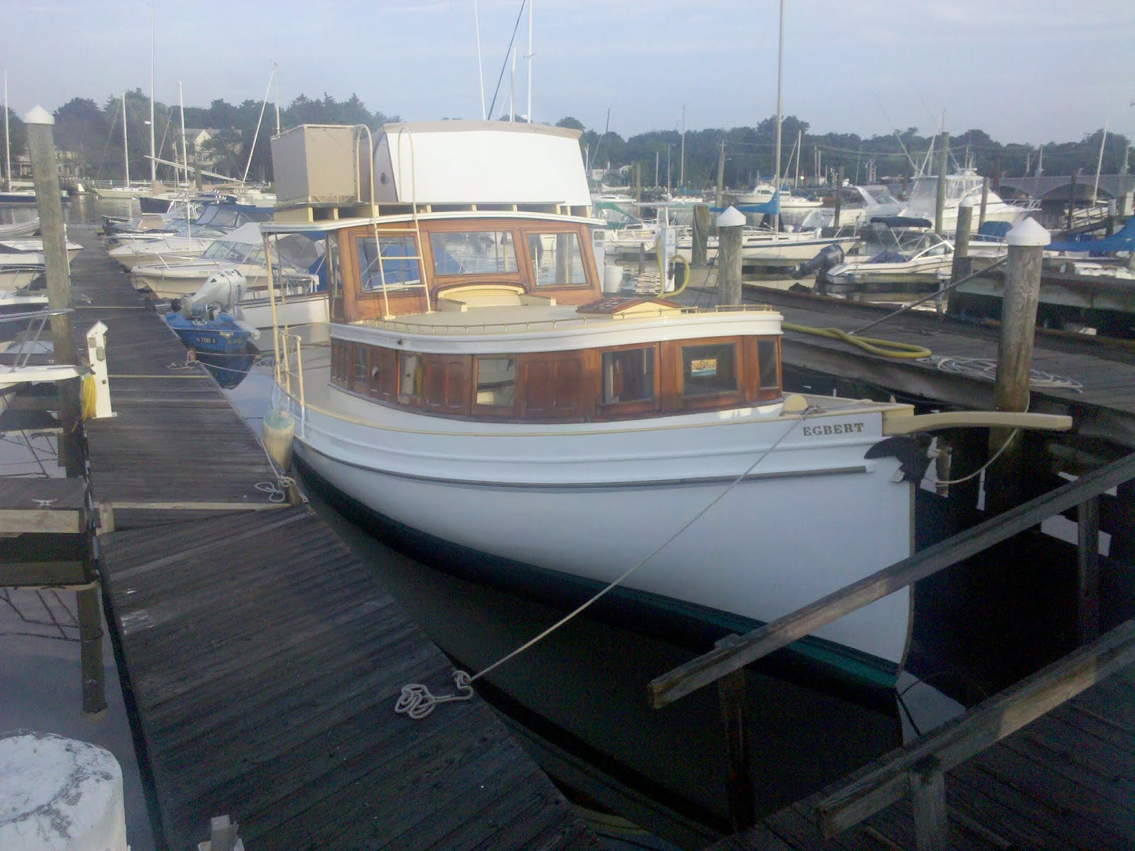 She is an antique yacht built in 1885 in the style of a traditional oyster ...