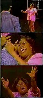 Jennifer Holliday in the 1982 hit musical Dreamgirls
