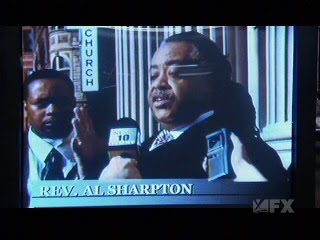 Rev. Al Sharpton learned that his is related to Senator Strom Thurmond