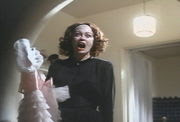 Faye Dunaway portrayed actress Joan Crawford in the film 'Mommie Dearest', which told of Crawford's abuse of her adopted daughter.  'No Wire Hangers, EVER!' became a popular saying from the film.